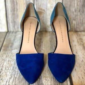 CHINESE LAUNDRY Blue & Teal Heel Pump - 8.5